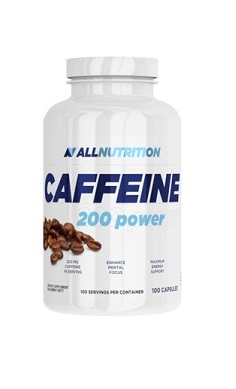 All Nutrition Caffeine 200 power - 100 caps