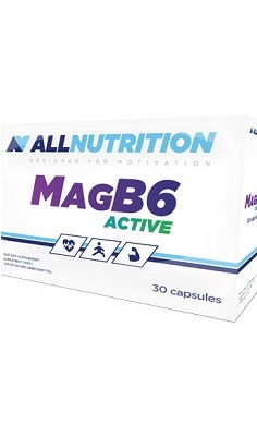 All Nutrition MagB6 magnesium vitamin b6 - active - 30 cap