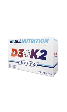 All Nutrition Vitamin D3 & Vitamin K2