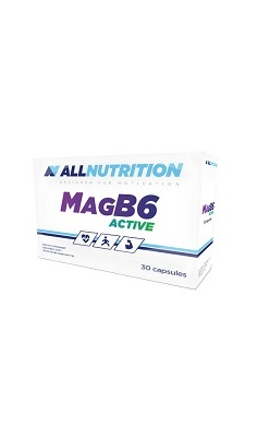 All Nutrition magnesium vitamin b6 - active - 30 cap