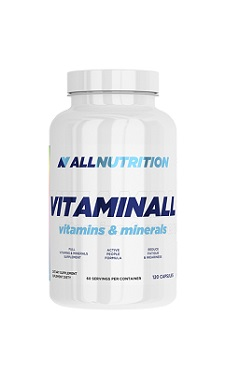 All Nutrition vitaminall multivitamin 120caps