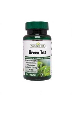 Natures Aid Green Tea