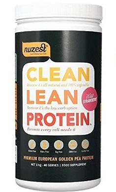Nuzest Clean Lean Protein strawberry old