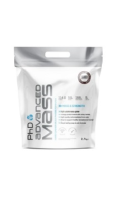 PhD Nutrition Advanced Mass Powder 5.4kg, gainer