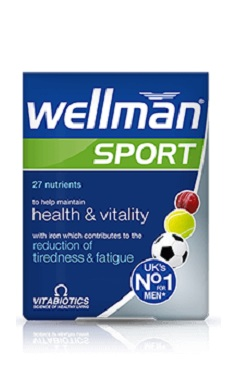 Vitabiotics Wellman Sport men's Multivitamin