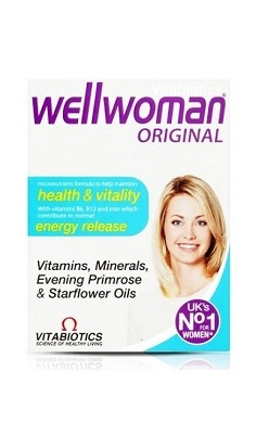 vitabiotics wellwoman original multivitamin