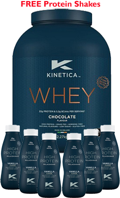 Kinetica whey Protein RTD offer
