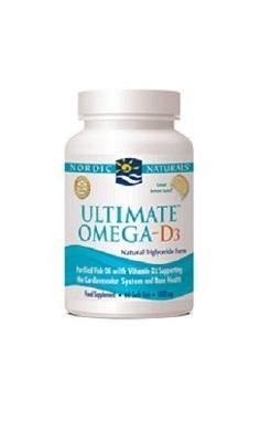 Nordic Naturals Ultimate Omega 3 & Vitamin D3