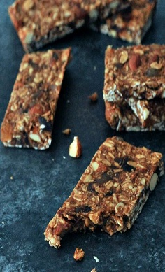 Vegan Ginger & Vanilla Protein Bars, dairy, egg, soy and gluten free
