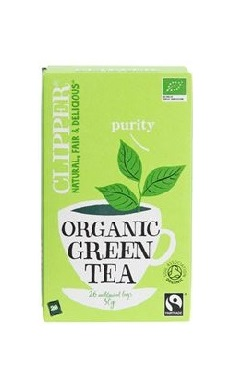 Clipper Organic Pure Green Tea