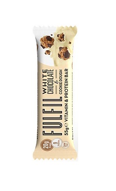 Fulfil Nutrition White Chocolate & Cookie Dough Protein Bar single