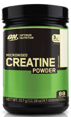 Optimum Nutrition Creatine Monohydrate powder