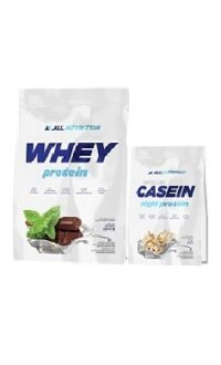 All Nutrition 24hr protein stack