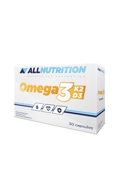 All Nutrition omega3 k2d3, vitamin K2, Vitamin D3