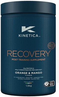 Kinetica Recovery protein carbs carbohydrate