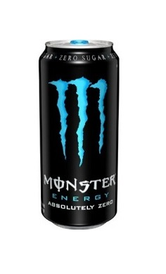 Monster Energy Absolute Zero, sugar free, energy drink