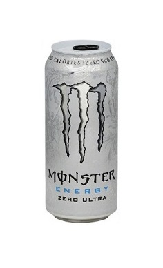 Monster Energy zero ultra, zero sugar, energy drink
