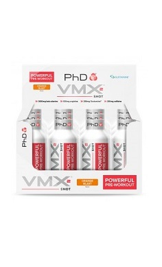PhD Nutrition VMX2 shot box of 12 - pre-workout shot