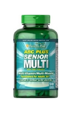Puritans Pride ABC Plus Senior Multivitamin Multi-Mineral Formula