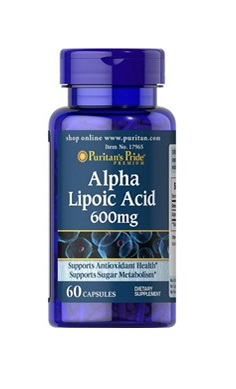 Puritans Pride Alpha Lipoic Acid 600mg