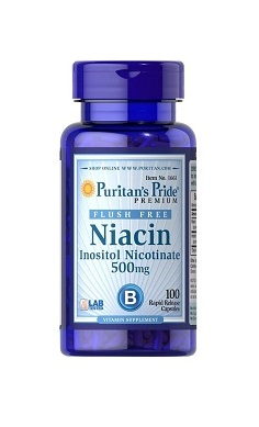 Puritans Pride Flush Free Niacin 500mg