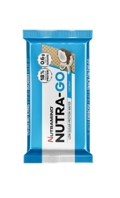Nutramino Nutra-Go Low Sugar Protein Wafer Coconut