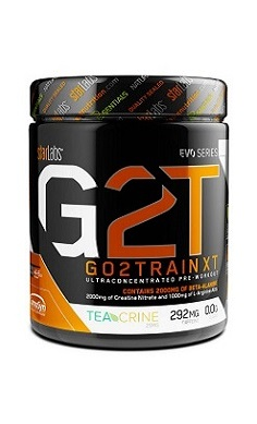 Starlabs G2T GoToTrain XT - Pre-workout - powerful all-in-one pre-workout to support mental focus, fat loss, endurance, energy & power