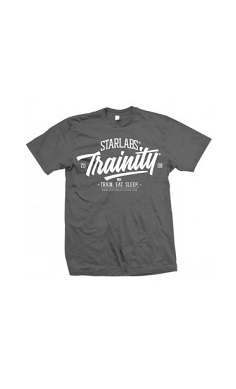 starlabs nutrition trainity gym t-shirt sports, muscle fit