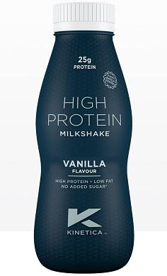 Kinetica High Protein Milkshake RTD