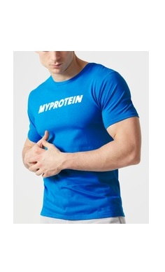 MyProtein Gym T-shirt blue original
