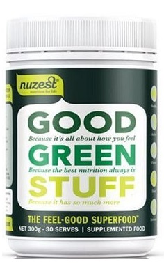 NuZest Good Green Stuff super greens