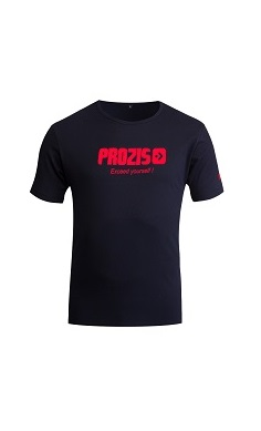 prozis gym t-shirt black- exceed yourself