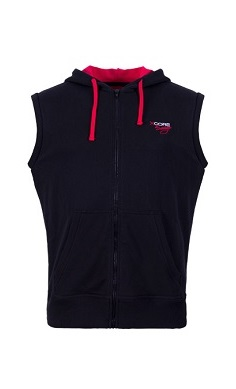 xcore savage claws hooded vest gilet