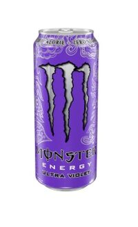 Monster Energy Ultra Violet Zero sugar - energy drink