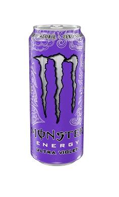 Monster Energy Ultra Violet Zero sugar - energy drink