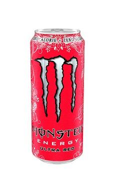 Monster Energy ultra Red - energy drink