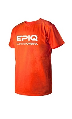 epiq clean is powerful gym t-shirt
