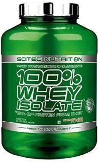 Scitec Nutrition 100% whey isolate protein