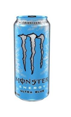 Monster Energy ultra BLUE - energy drink