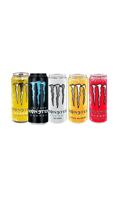 Monster Energy zero ultra energy drink, sugar free