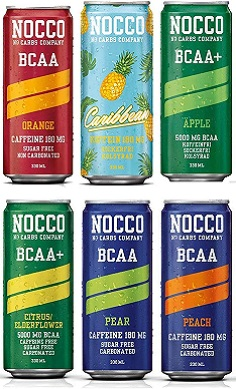Nocco BCAA energy drink