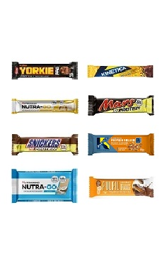 Protein bar pick 'n' mix