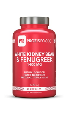 Prozis Foods White Kidney Bean & Fenugreek