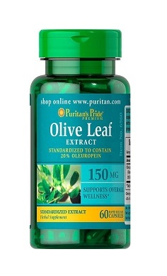 Puritan's Pride Olive Leaf Extract 150mg