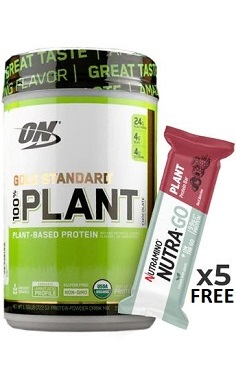 optimum nutrition gold standard 100% plant protein offer