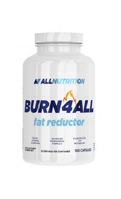 All Nutrition Burn4All, Fat Burner, Bitter Orange Extract