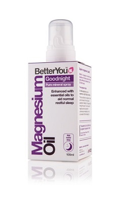 BetterYou magnesium oil spray goodnight