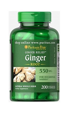 Puritans Pride Ginger Root 550mg