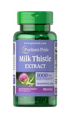 Puritans Pride Milk Thistle Extract 1000mg