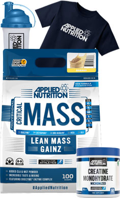 Applied Nutrition Critical Mass Gainer offer 3